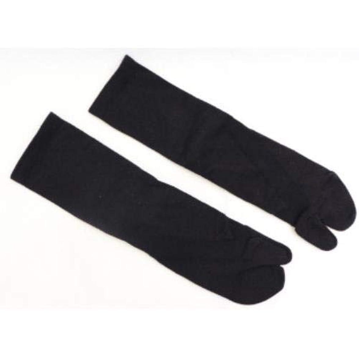 家庭教師著名な君主制さとう式 フレクサーソックス クルー 黒 (L) 足袋型