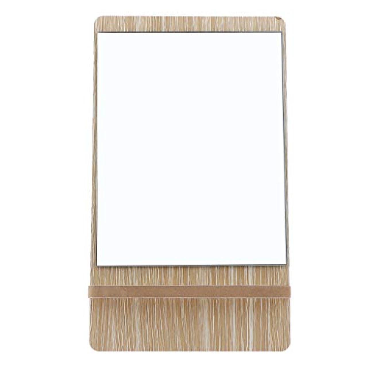 決済燃料白い鏡 卓上 スタンド 化粧鏡 メイクミラー 折りたたみ バニティミラー 3サイズ選べ - 大