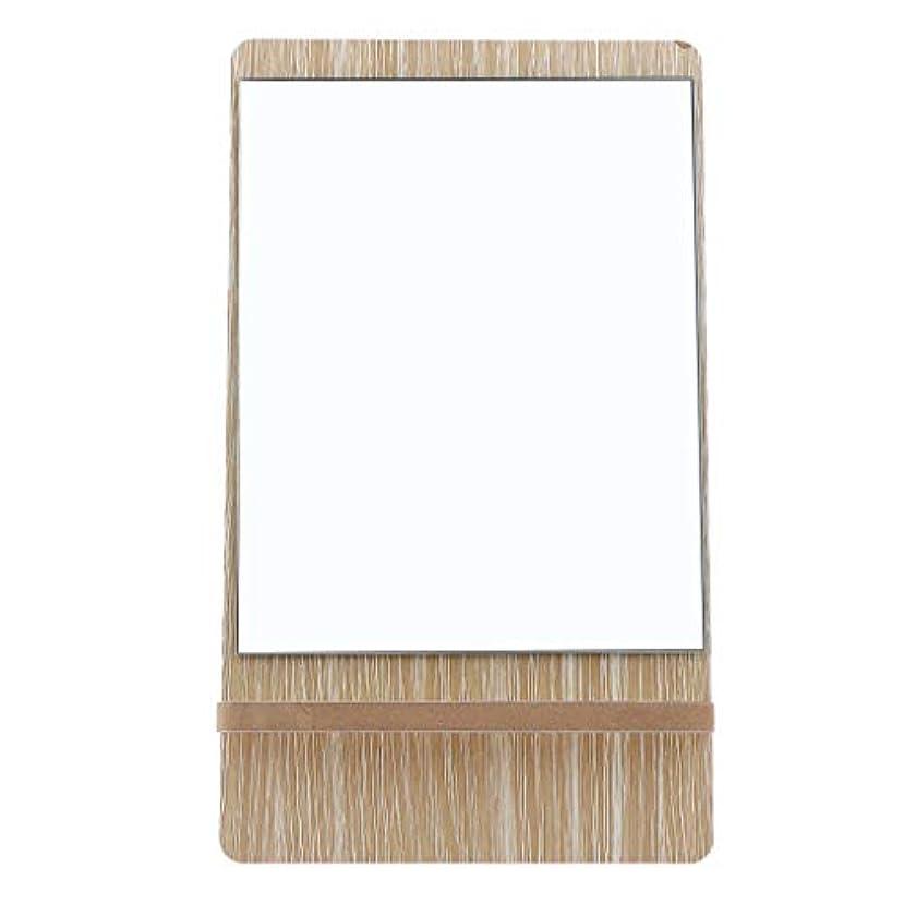 妖精パワーセル部門鏡 卓上 スタンド 化粧鏡 メイクミラー 折りたたみ バニティミラー 3サイズ選べ - 大