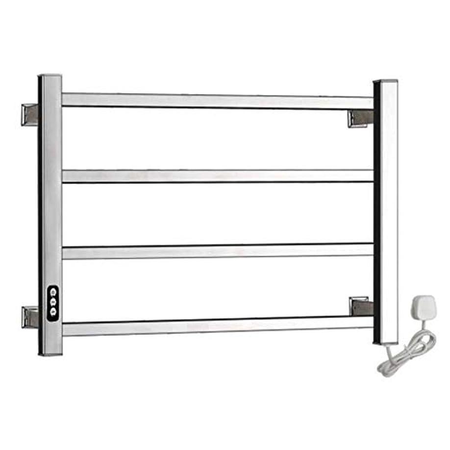 ほかに狂った突き刺す304ステンレス鋼電気タオルウォーマー、加熱タオルラックラジエーター、壁掛け式浴室乾燥ラック、恒温乾燥、防水および防錆、450X600X110mm