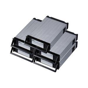 ラトックシステム REX-SATA3シリーズ用 交換トレイ(5個入)(ブラック) SA3-TR5-BK