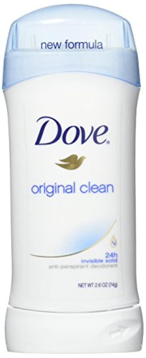 Dove Anti-Perspirant/Deodorant Invisible Solid Original Clean 73g (並行輸入品)