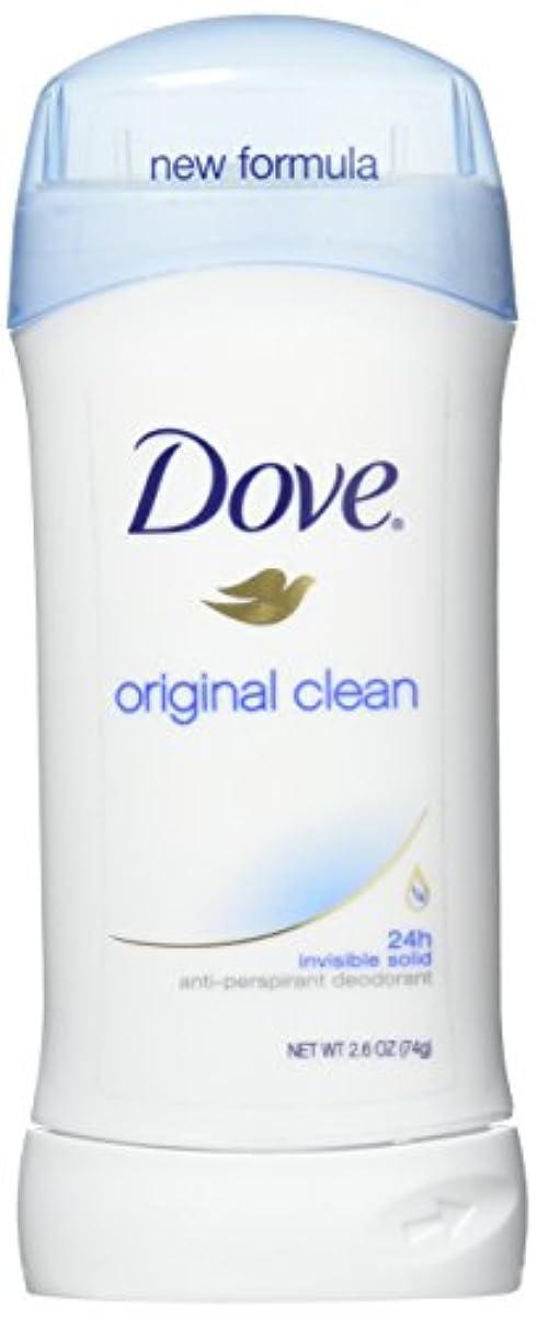 数学衝突ボスDove Anti-Perspirant/Deodorant Invisible Solid Original Clean 73g (並行輸入品)