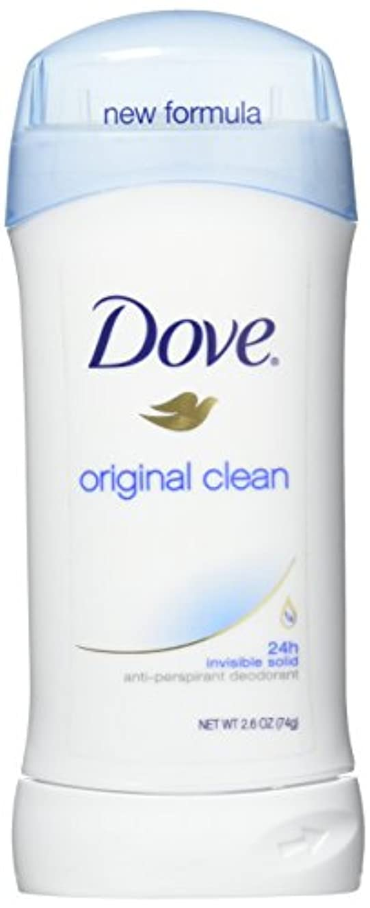 アイスクリーム波紋あなたのものDove Anti-Perspirant/Deodorant Invisible Solid Original Clean 73g (並行輸入品)