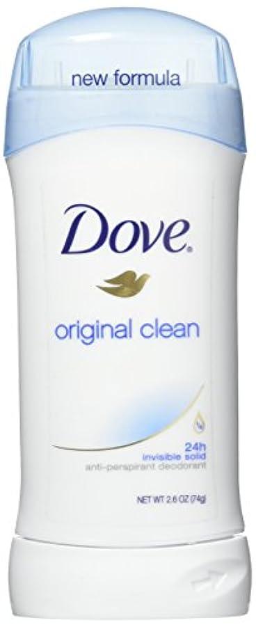 お茶シンク蜜Dove Anti-Perspirant/Deodorant Invisible Solid Original Clean 73g (並行輸入品)