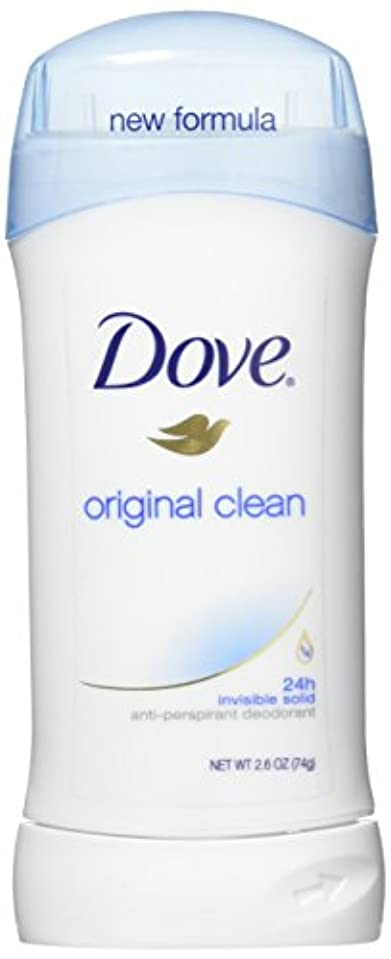 エンジニア行列ランプDove Anti-Perspirant/Deodorant Invisible Solid Original Clean 73g (並行輸入品)