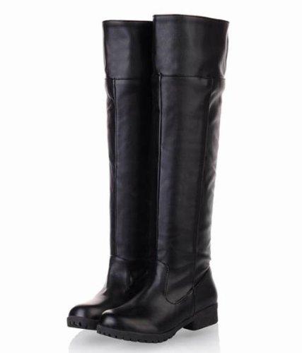 俺の コスプレ 進撃の巨人 調査兵団 ロング ブーツ 靴 【全2色 10サイズ有】【ブラック/黒】【26cm / 42 / bk】