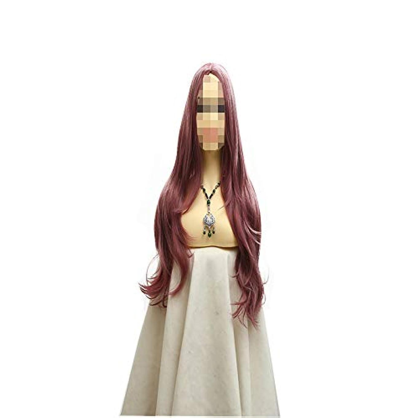 不正征服する真鍮かつら/ファッションナチュラルフルロングカール/セクシーレディーフルウィッグ/コスプレパーティーウィッグ