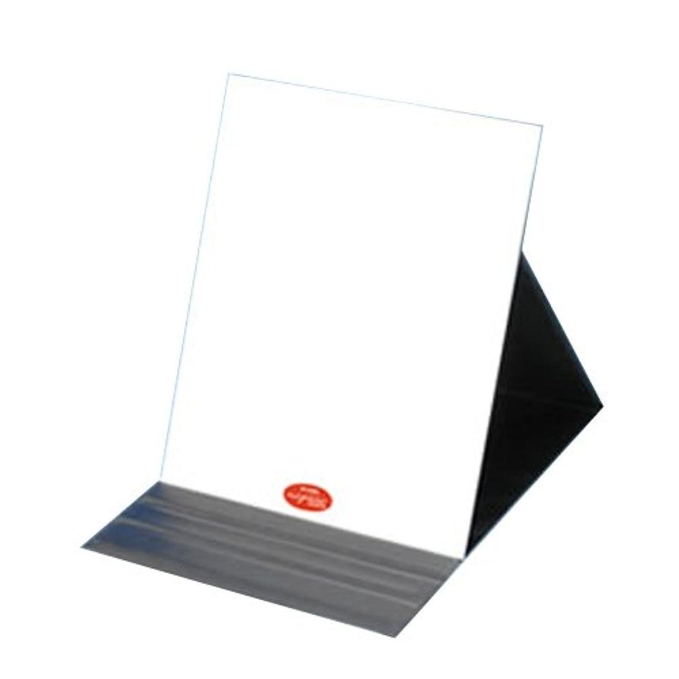 賢いマディソンタオル堀内鏡工業 ナピュア プロモデル角度調整3段階付き折立ミラー エコLL 単品