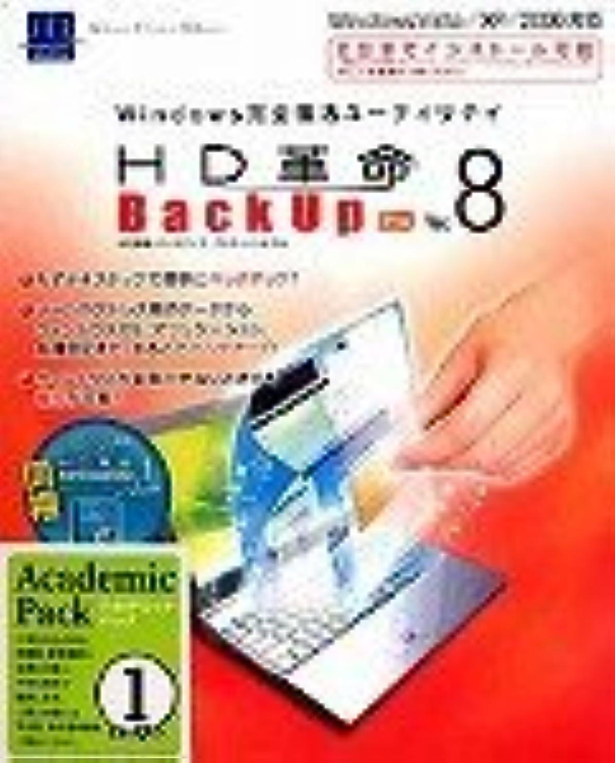取り付け美容師ジュースHD革命/BackUp Ver.8 Pro アカデミックパック1ユーザー