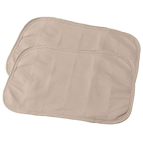 ナイスデイ 枕パッド 5.ベージュ 7.43×63(枕パッド) ひんやり 接触冷感 通気性 裏メッシュ #31660005 2枚入
