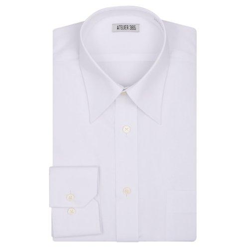 (アトリエサンロクゴ) atelier365 ワイシャツ 上質形態安定加工/at-ml-sre-1067-82-43