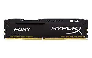 キングストン HX432C18FB/4 4GB DDR4 3200MHz CL18 1.2V HyperX Fury Black OC Unbuffered DIMM PC4-25600
