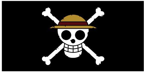 ワンピース 麦わらの一味 海賊旗ビッグタオル
