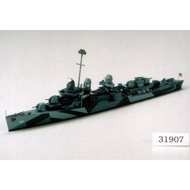 タミヤ1/700 アメリカ海軍 フレッチャー級駆逐艦 DD-797 クッシング