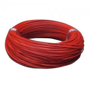 住電日立ケーブル 【切売販売】 600V ビニル絶縁電線 アース線 単線 1.2mm 1m単位切り売り 赤 IV1.2アカ