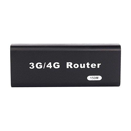 ミニWiFiルーター、USBワイヤレスルーター、ポータブルミニ3G / 4G WiFiルーター、150Mbps、全オペレーティングシステムとの互換性、プラグアンドプレイ