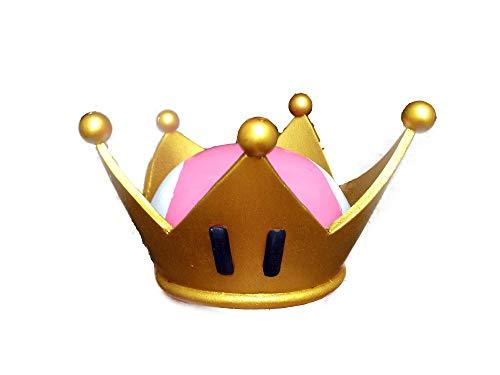 【Bronze tree】クッパ姫 キングテレサ姫 王冠 髪飾り 高品質 Cosplay コスプレ小物 道具 (普通版)