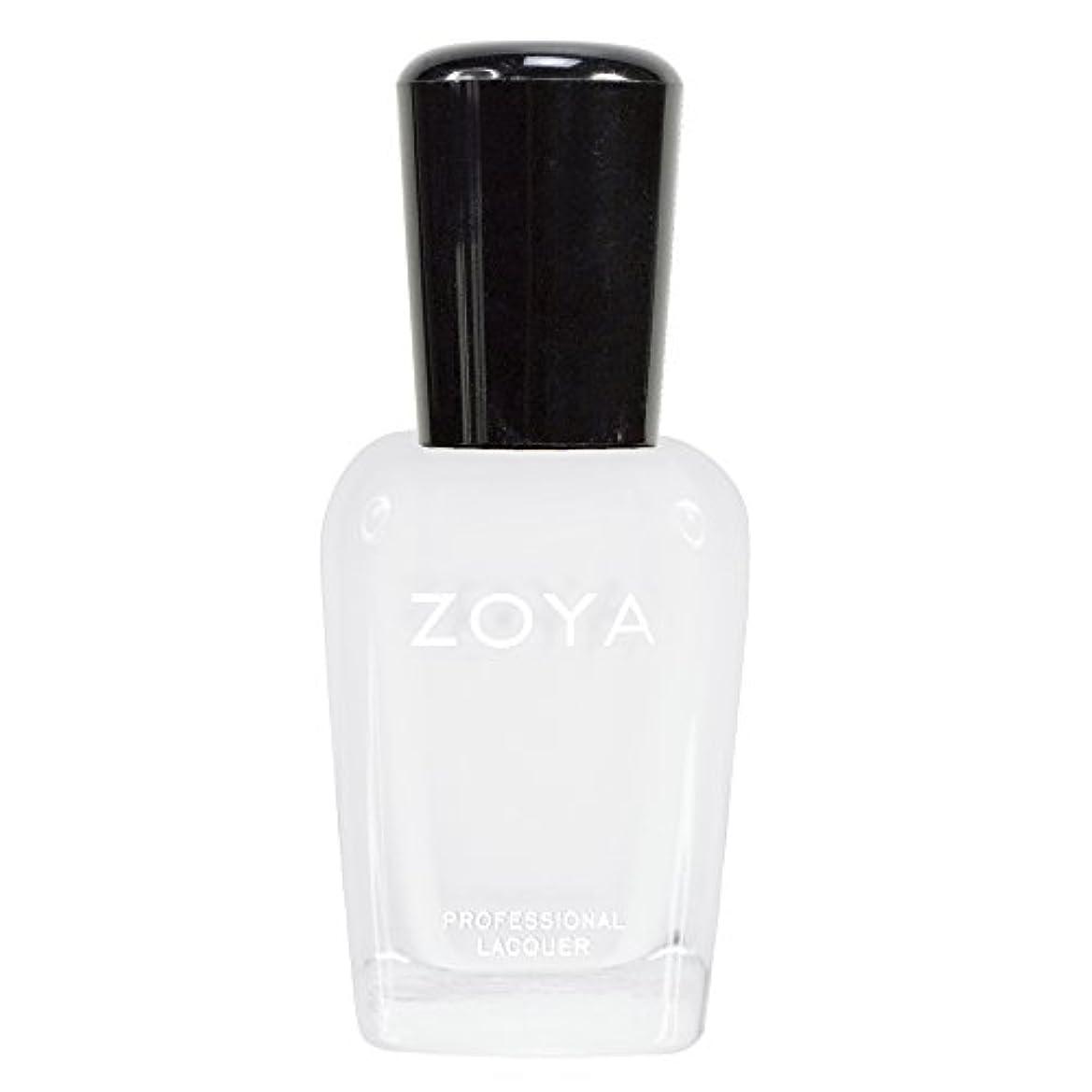 ノーブル報酬の企業ZOYA ゾーヤ ネイルカラーZP388 PURITY ピュリティ  15ml ホワイト マット 爪にやさしいネイルラッカーマニキュア