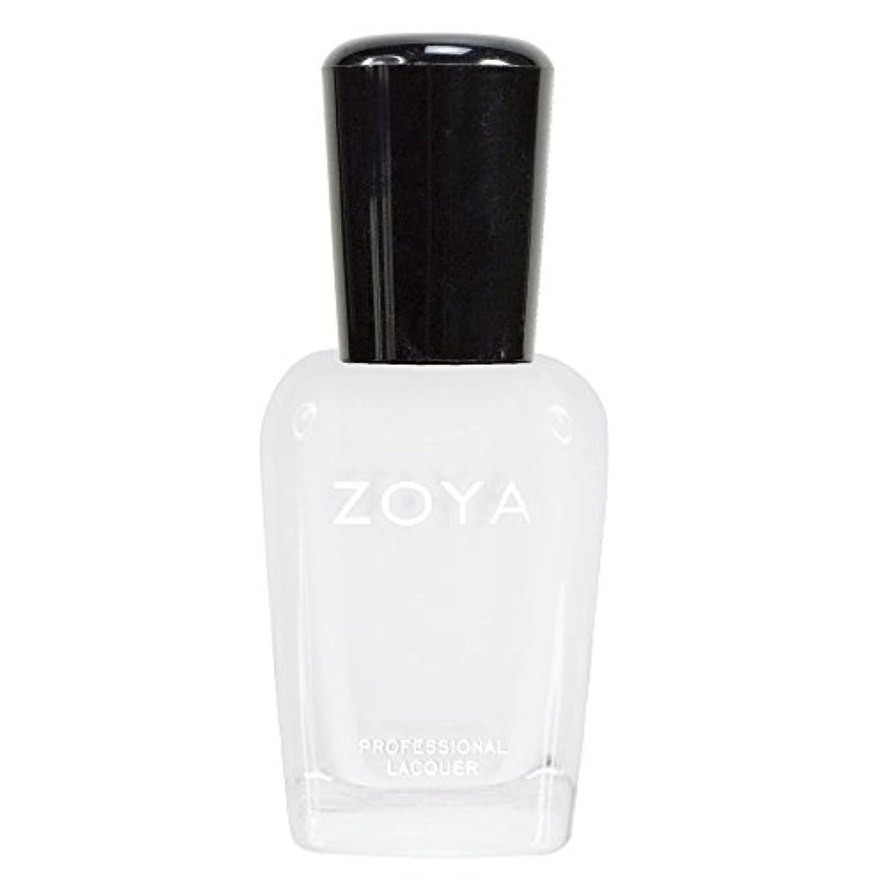 ZOYA ゾーヤ ネイルカラーZP388 PURITY ピュリティ  15ml ホワイト マット 爪にやさしいネイルラッカーマニキュア