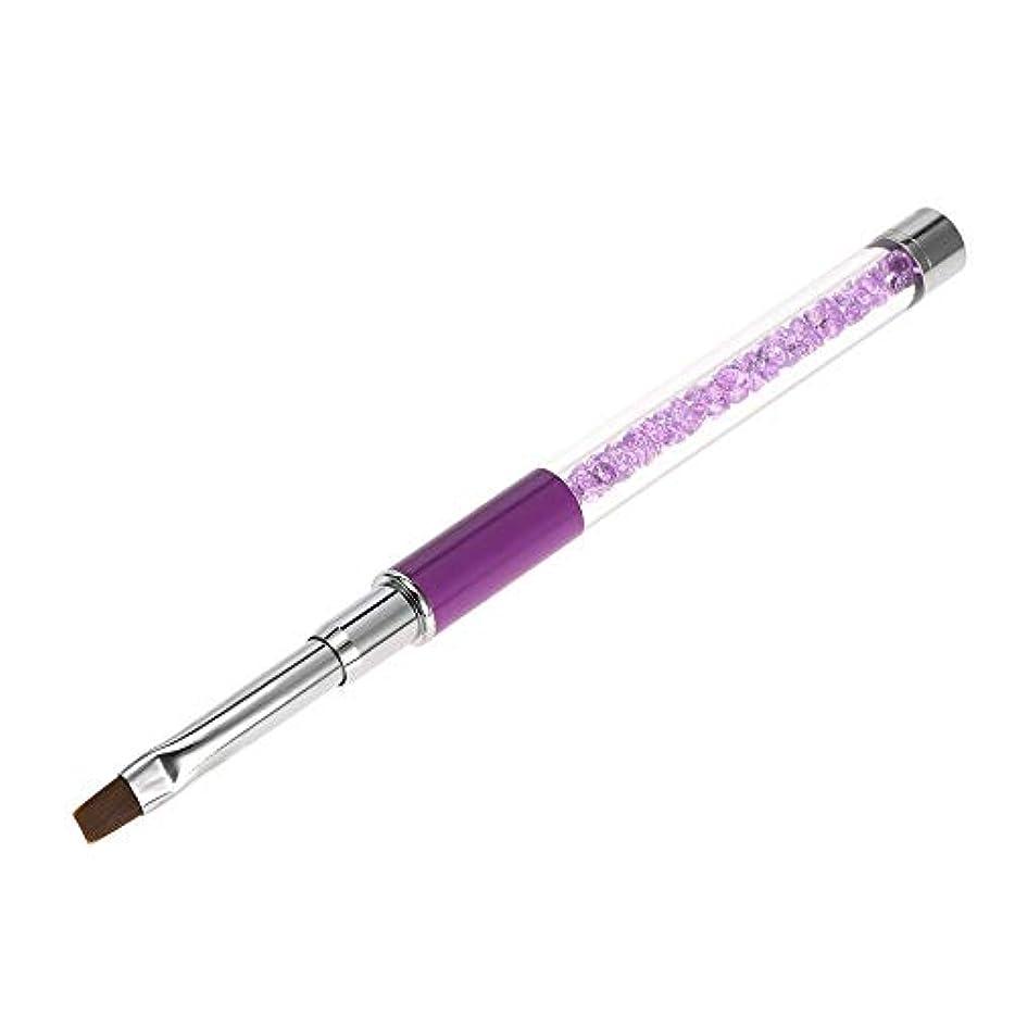 バナー横たわるコロニーネイルペン ネイルブラシ キラキラ おしゃれ ネイルアートペン ネイルアート筆 平筆 ネイルペン マニキュアツールキット ネイル用品