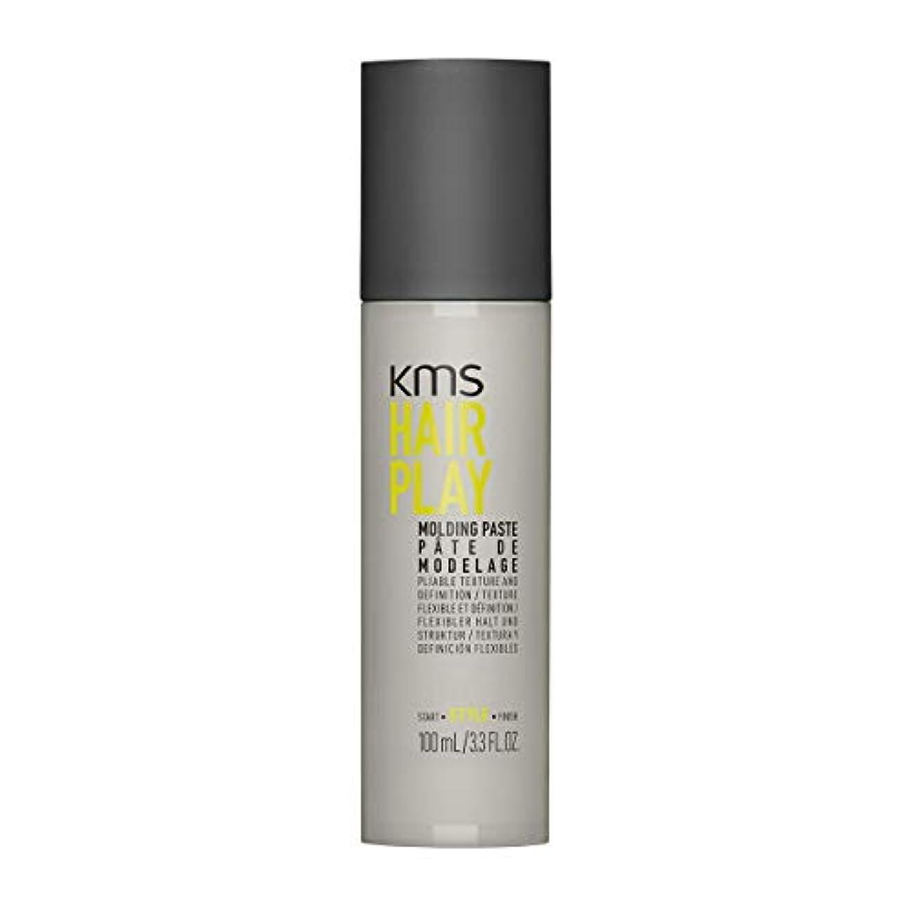 置くためにパック乱用規定KMSカリフォルニア Hair Play Molding Paste (Pliable Texture And Definition) 100ml