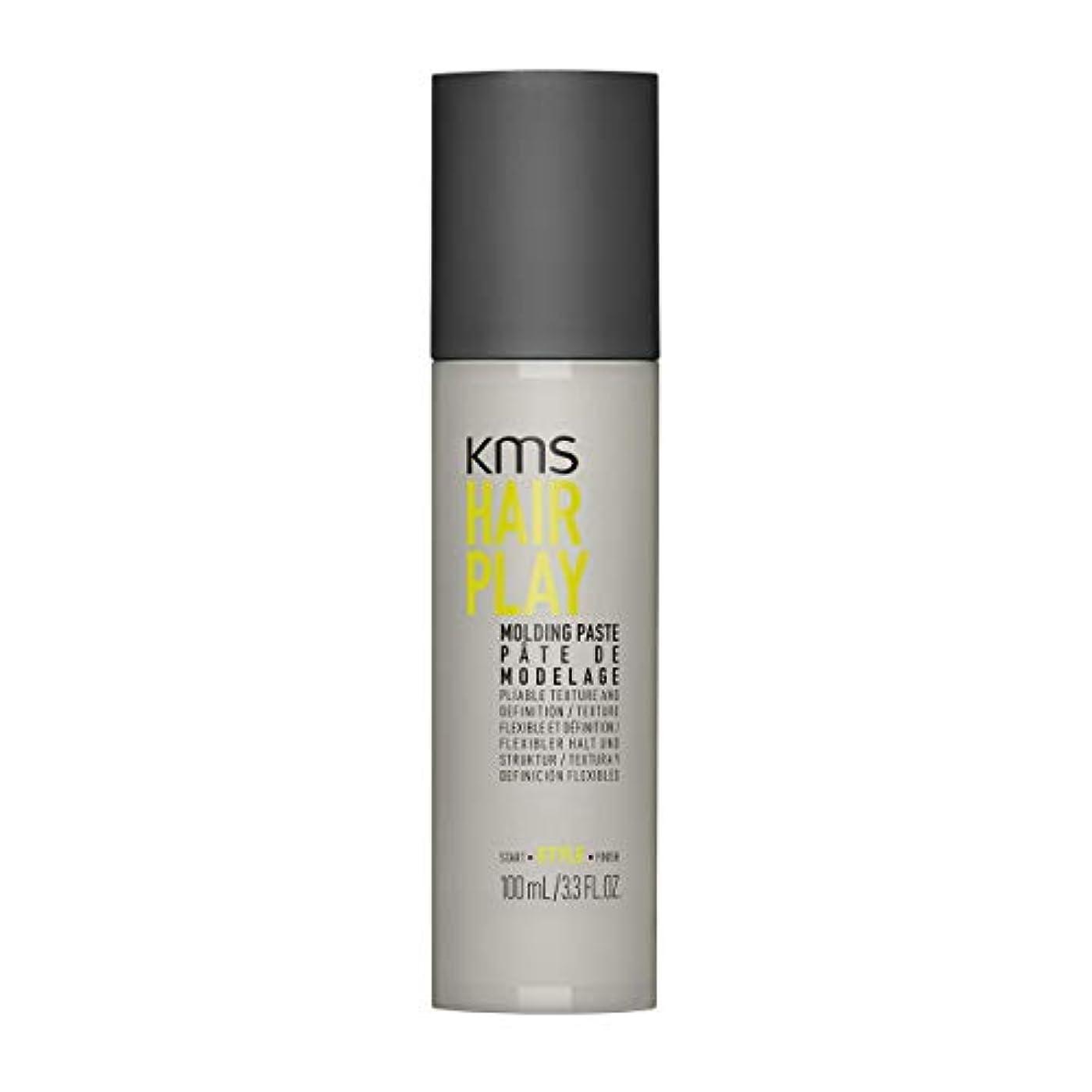 広がり一元化する表面KMSカリフォルニア Hair Play Molding Paste (Pliable Texture And Definition) 100ml