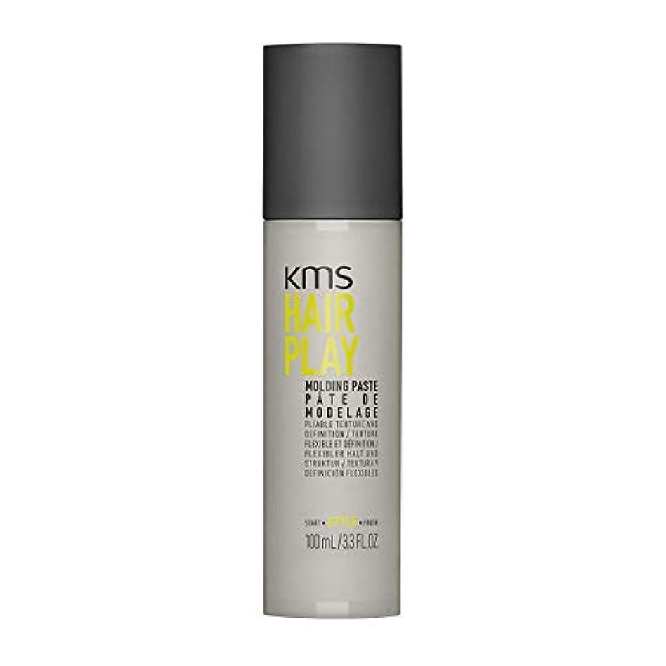 禁輸見ました温かいKMSカリフォルニア Hair Play Molding Paste (Pliable Texture And Definition) 100ml