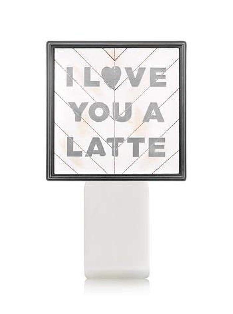 証明付属品実行する【Bath&Body Works/バス&ボディワークス】 ルームフレグランス プラグインスターター (本体のみ) アイラブユー Wallflowers Fragrance Plug I Love You a Latte...