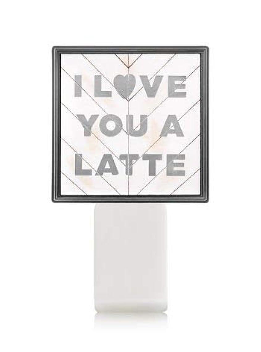 騒ぎ母音田舎者【Bath&Body Works/バス&ボディワークス】 ルームフレグランス プラグインスターター (本体のみ) アイラブユー Wallflowers Fragrance Plug I Love You a Latte...