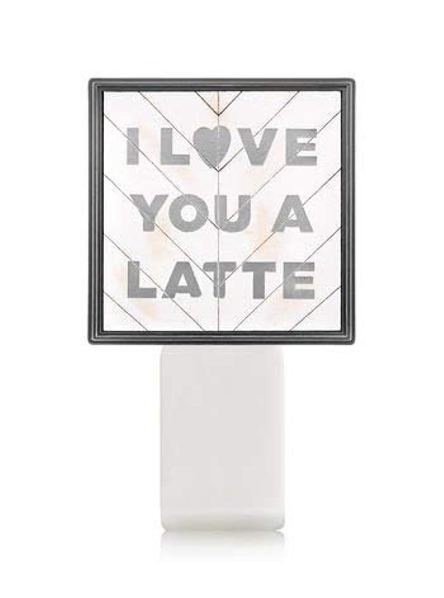 間おもしろい豊かにする【Bath&Body Works/バス&ボディワークス】 ルームフレグランス プラグインスターター (本体のみ) アイラブユー Wallflowers Fragrance Plug I Love You a Latte...