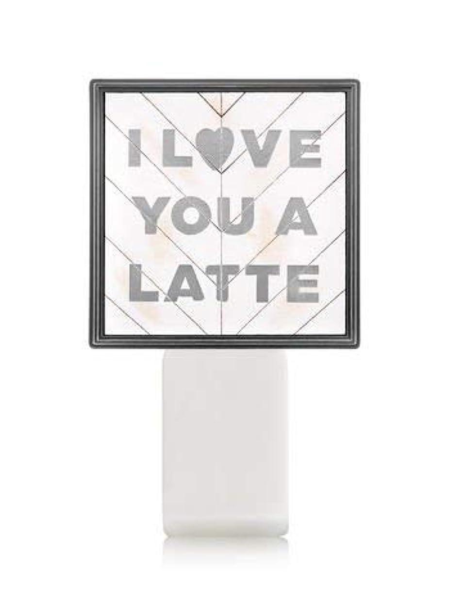 一掃するダッシュ呼び出す【Bath&Body Works/バス&ボディワークス】 ルームフレグランス プラグインスターター (本体のみ) アイラブユー Wallflowers Fragrance Plug I Love You a Latte...