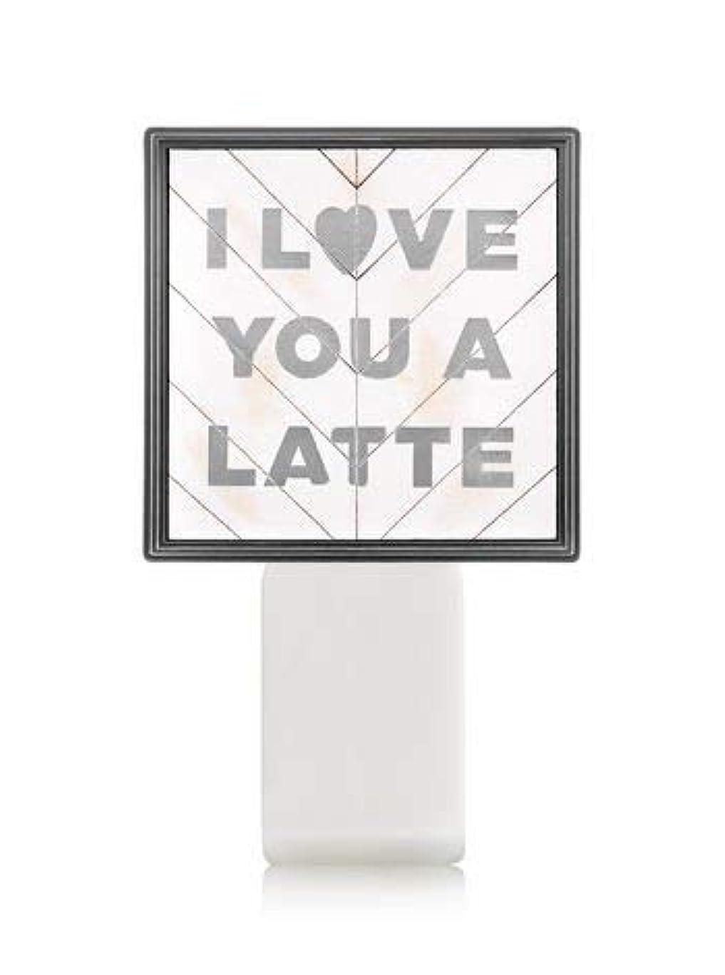 ほかにオリエンテーションまた明日ね【Bath&Body Works/バス&ボディワークス】 ルームフレグランス プラグインスターター (本体のみ) アイラブユー Wallflowers Fragrance Plug I Love You a Latte...