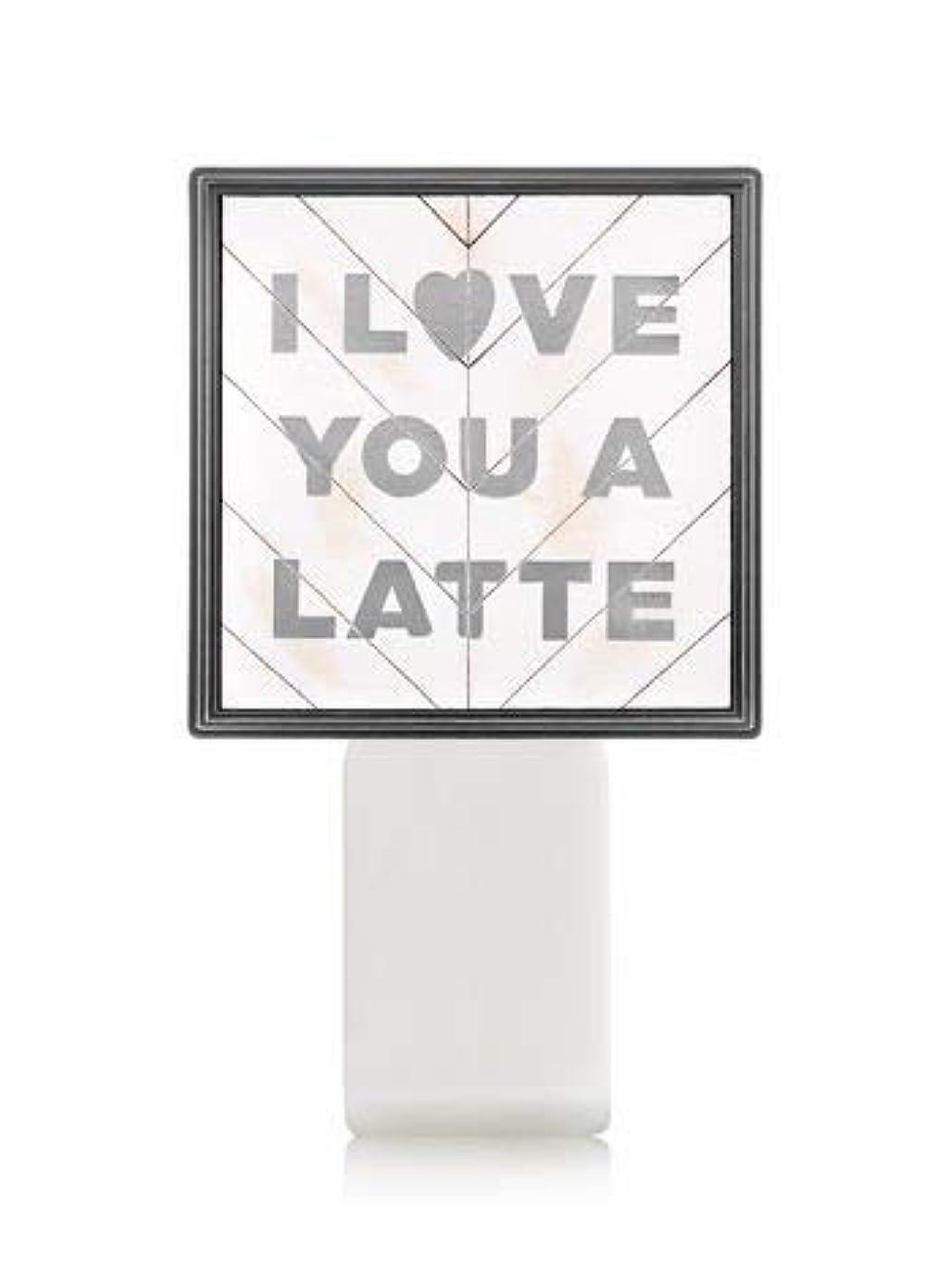 飾り羽有効化自分の【Bath&Body Works/バス&ボディワークス】 ルームフレグランス プラグインスターター (本体のみ) アイラブユー Wallflowers Fragrance Plug I Love You a Latte...