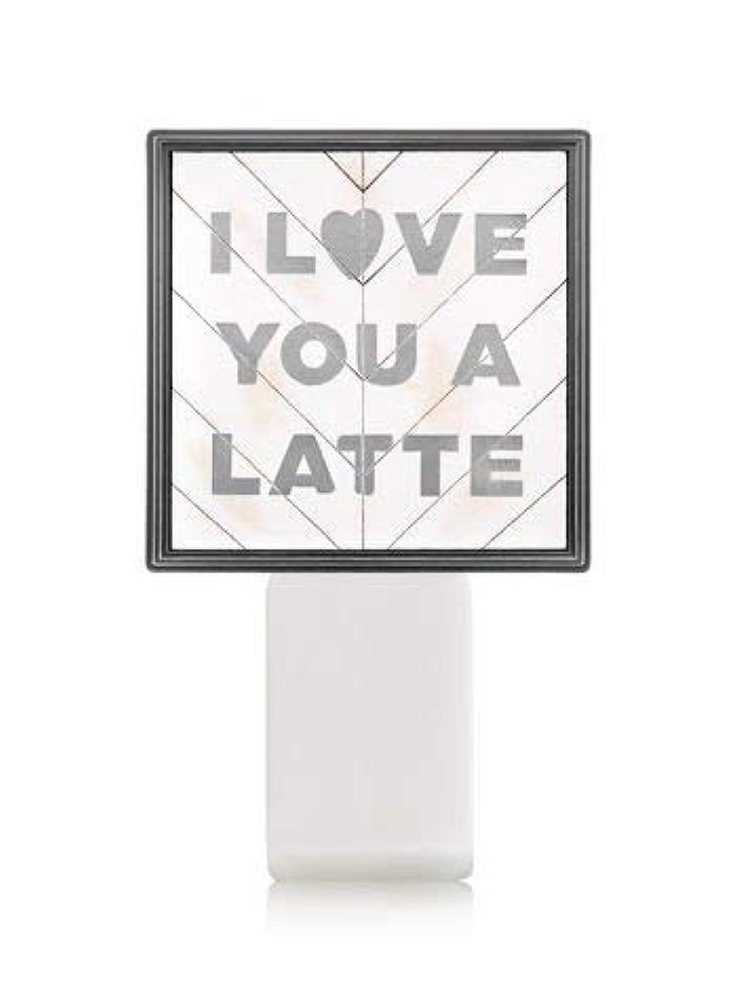 エンジン初期過言【Bath&Body Works/バス&ボディワークス】 ルームフレグランス プラグインスターター (本体のみ) アイラブユー Wallflowers Fragrance Plug I Love You a Latte...
