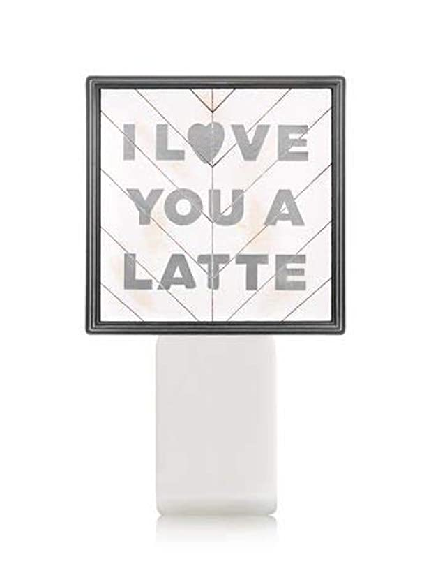 飢え思想特異性【Bath&Body Works/バス&ボディワークス】 ルームフレグランス プラグインスターター (本体のみ) アイラブユー Wallflowers Fragrance Plug I Love You a Latte...