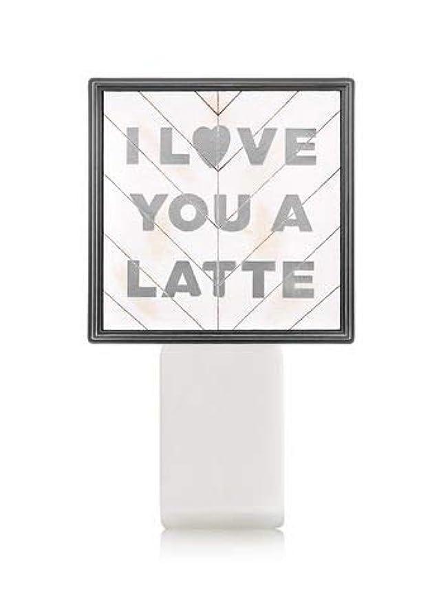 スプリット基本的な逃れる【Bath&Body Works/バス&ボディワークス】 ルームフレグランス プラグインスターター (本体のみ) アイラブユー Wallflowers Fragrance Plug I Love You a Latte...