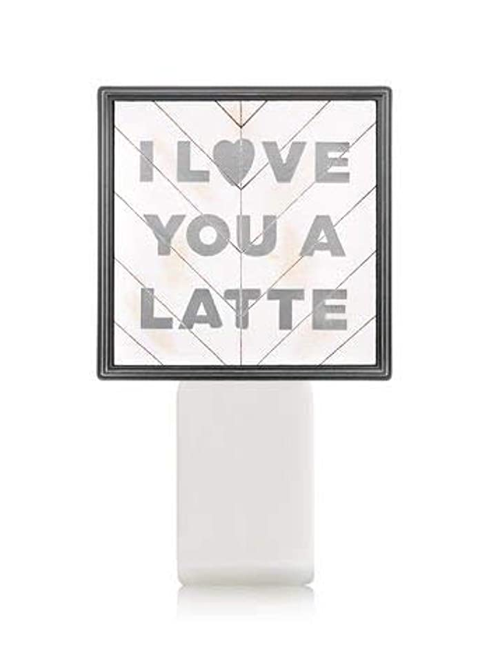 取り消すと闘う同意する【Bath&Body Works/バス&ボディワークス】 ルームフレグランス プラグインスターター (本体のみ) アイラブユー Wallflowers Fragrance Plug I Love You a Latte...