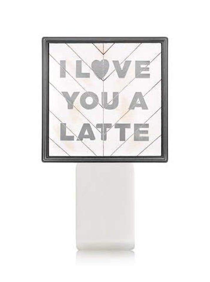 暴露破産上【Bath&Body Works/バス&ボディワークス】 ルームフレグランス プラグインスターター (本体のみ) アイラブユー Wallflowers Fragrance Plug I Love You a Latte...
