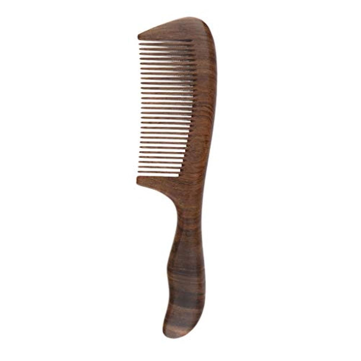 お世話になった絶滅させる減るくし コーム 木製 マッサージ 美髪ケア パドルブラシ 頭皮に優しい メンズ レディースに適用
