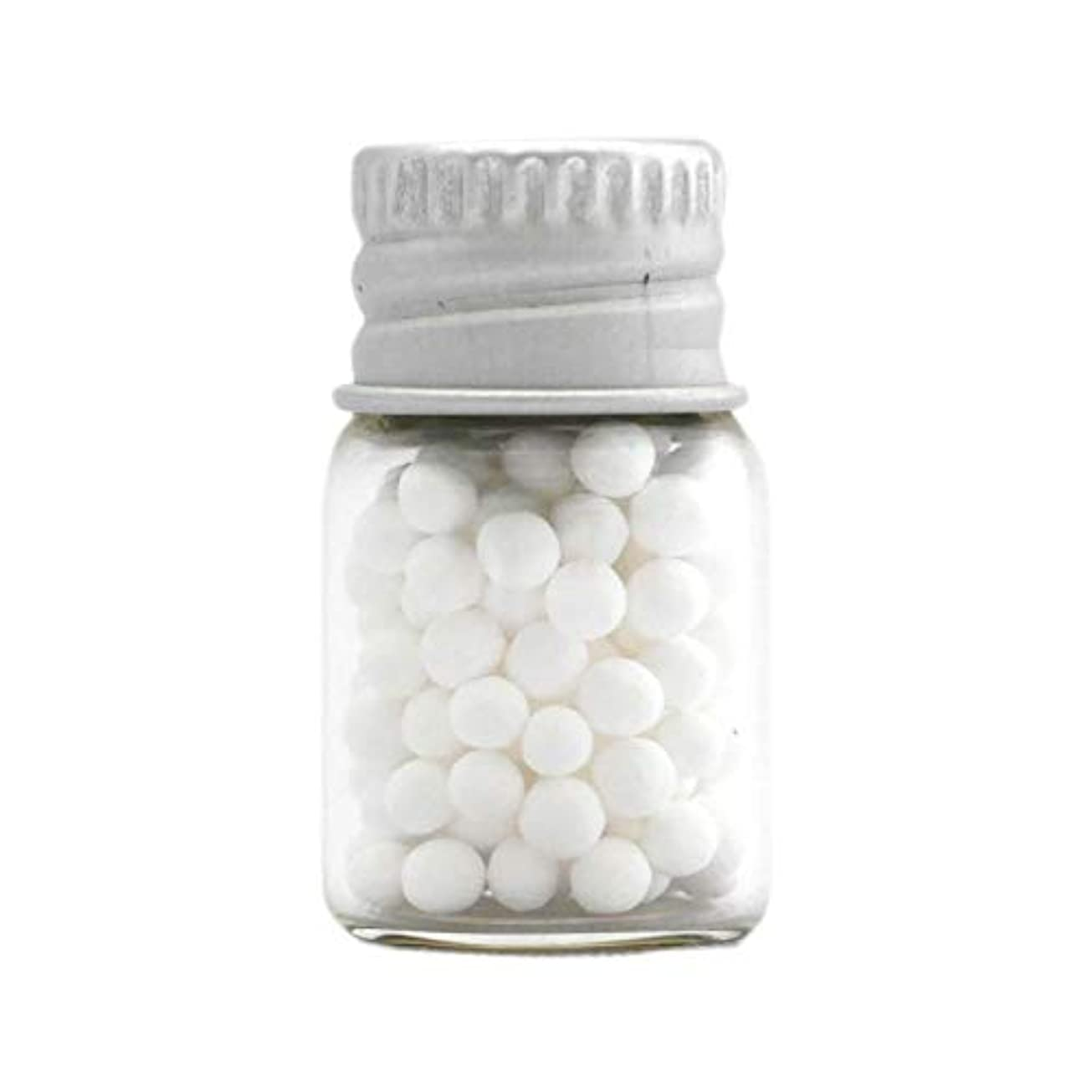 暴君装備するかかわらずアロマ?エコビーズ(直径約2mm)0.5g 銀色フタ付きミニボトル入り 香りをしみこませることのできるアロマボール