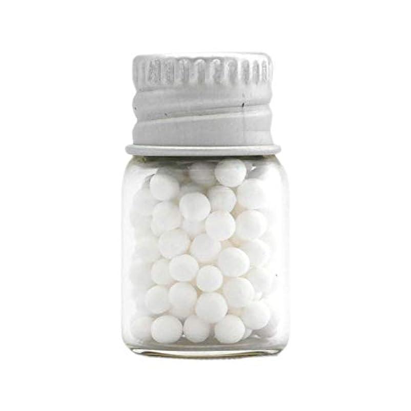 お祝い影響頑丈アロマ?エコビーズ(直径約2mm)0.5g 銀色フタ付きミニボトル入り 香りをしみこませることのできるアロマボール