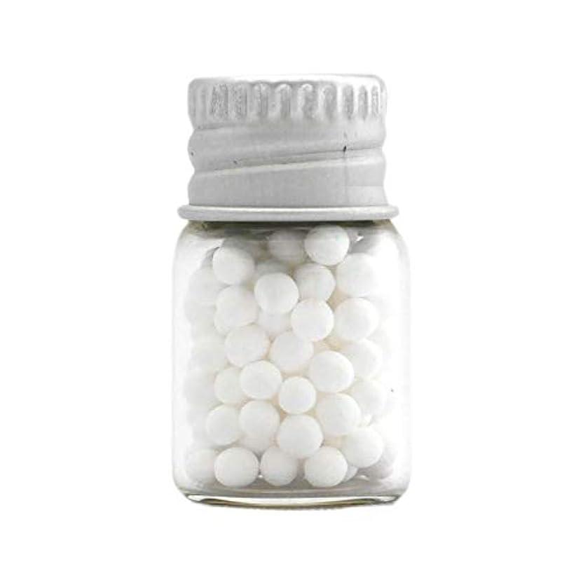 ヒュームしないでくださいフィットネスアロマ?エコビーズ(直径約2mm)0.5g 銀色フタ付きミニボトル入り 香りをしみこませることのできるアロマボール