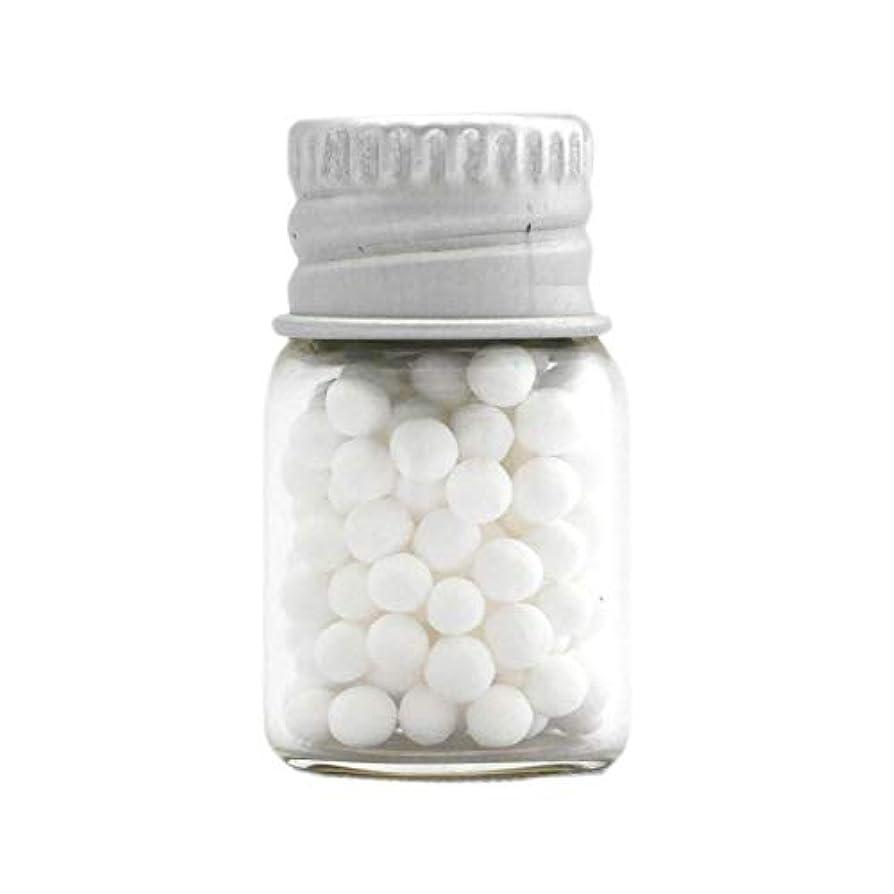 アロマ?エコビーズ(直径約2mm)0.5g 銀色フタ付きミニボトル入り 香りをしみこませることのできるアロマボール