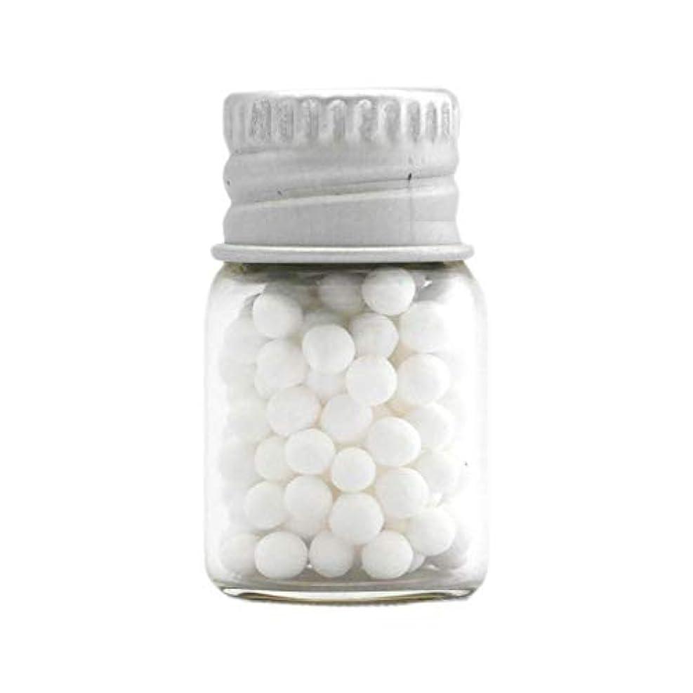 足音石のフラフープアロマ?エコビーズ(直径約2mm)0.5g 銀色フタ付きミニボトル入り 香りをしみこませることのできるアロマボール