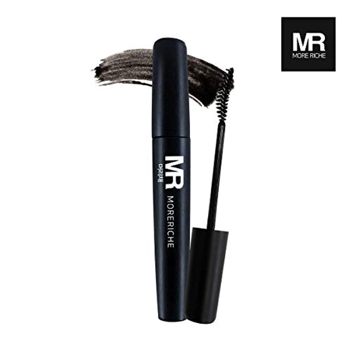 モニカ出席オピエート[1+1] MoreRiche ヘアマスカラカラーグレーイングヘアカバースティック Temporary Hair Mascara Color Graying hair Cover Stick, Black Color 0.44...