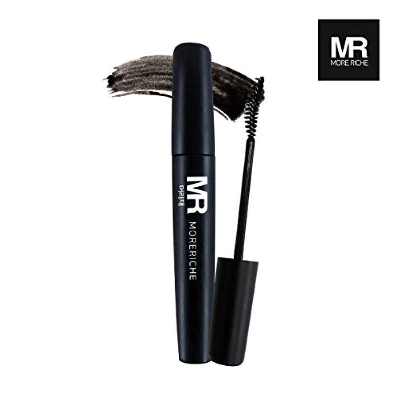 ステージフェンストランジスタ[1+1] MoreRiche ヘアマスカラカラーグレーイングヘアカバースティック Temporary Hair Mascara Color Graying hair Cover Stick, Black Color 0.44...