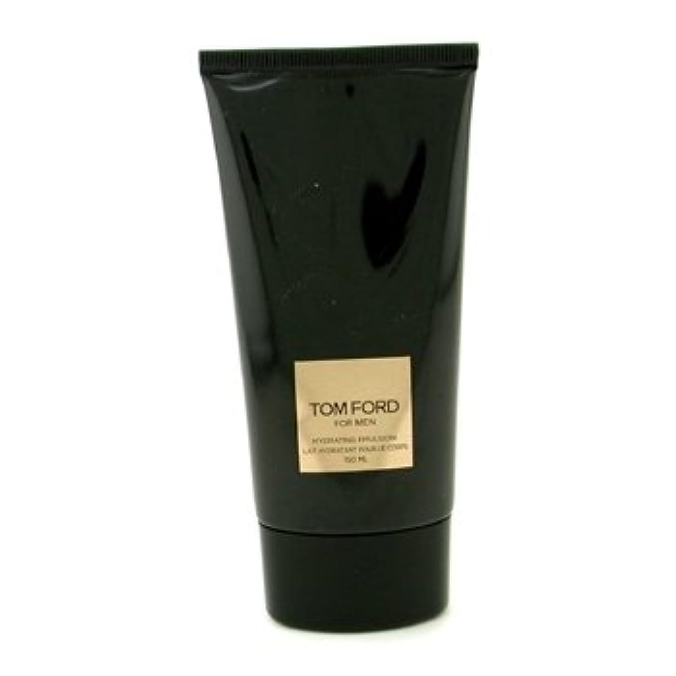 黙認するプラカード懲戒Tom Ford (トムフォード) 5.0 oz (150ml) Hydrating Emulsion (ボディーローション) 箱なし for Men