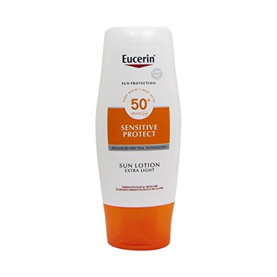 指標教育するカウントEucerin Sun Extra Light Lotion Spf50 150ml [並行輸入品]