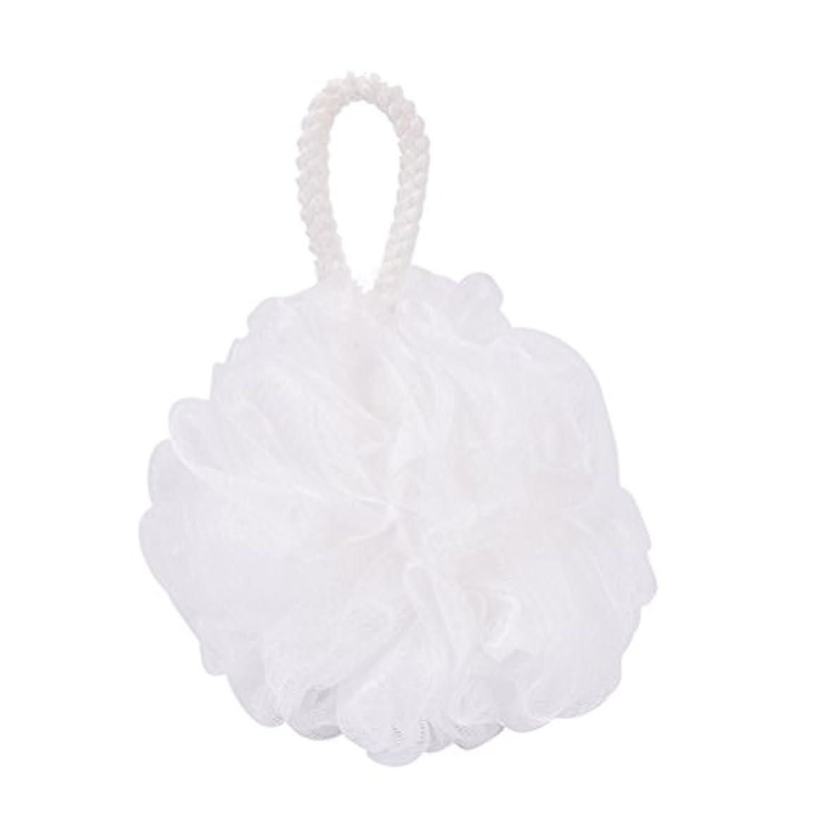 かび臭い海洋ののTenlacum バスフラワーボールスポンジ 泡を泡立てるメッシュネット 超柔軟 ボディ 風呂ボール